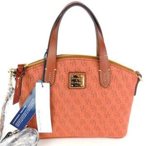 Dooney & Bourke Ruby Satchel Crossbody Rust bag B6